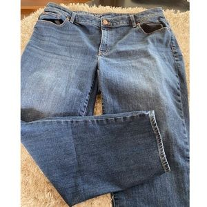 Talbots Curvy Girlfriend Jeans Size 16W